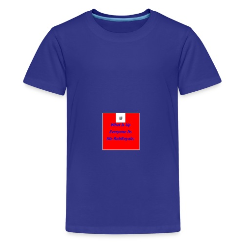 RobRoyale's First Shirt - Kids' Premium T-Shirt