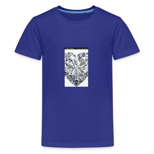 Heart diamond - Kids' Premium T-Shirt