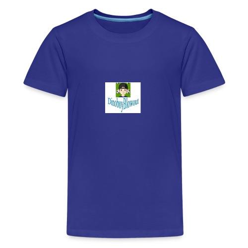 Dinoboy Blowout Logo - Kids' Premium T-Shirt