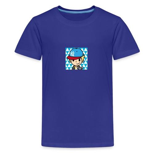 FaceQ1498685113923 1 - Kids' Premium T-Shirt
