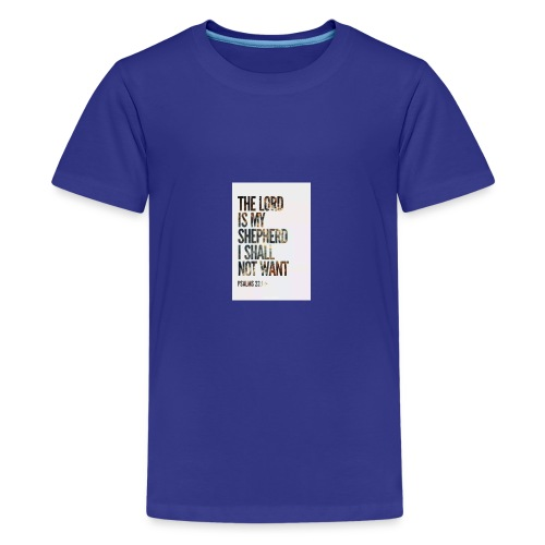 The Lord is my sheperd - Kids' Premium T-Shirt