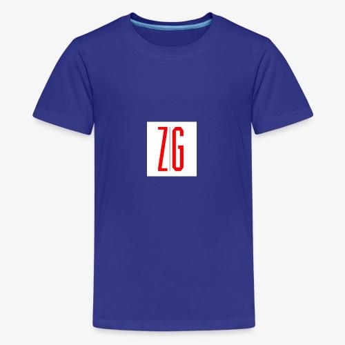 Zero Gravity Logo - Kids' Premium T-Shirt