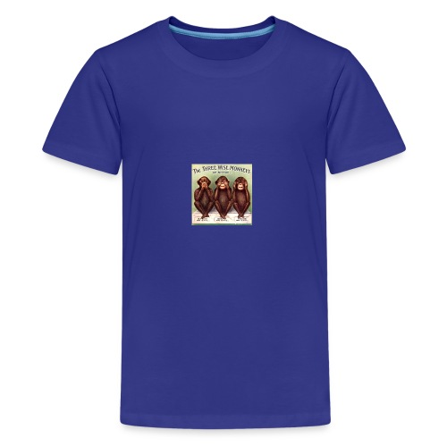 Moral monkeys - Kids' Premium T-Shirt