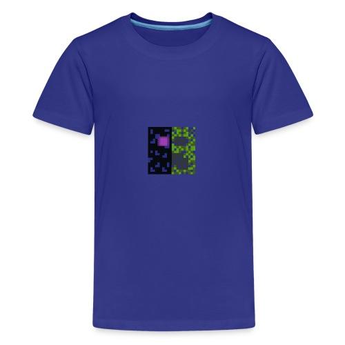 Creeper & enderman - Kids' Premium T-Shirt