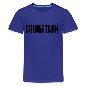 CringeTank Logo - Kids' Premium T-Shirt