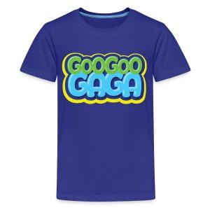 Goo Goo Gaga Logo - Kids' Premium T-Shirt