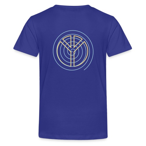 MHU Turn Peace Symbol UP for LIFE - Kids' Premium T-Shirt