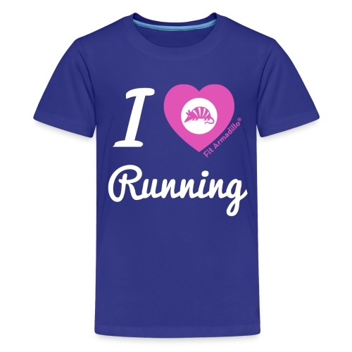 I love running - Kids' Premium T-Shirt
