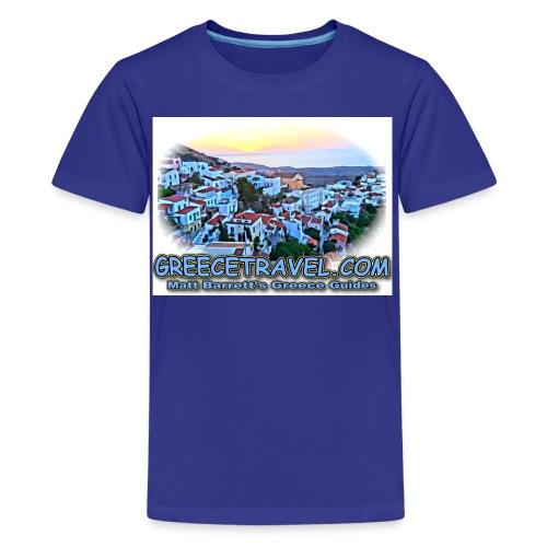 GREECETRAVEL KEA 2 jpg - Kids' Premium T-Shirt