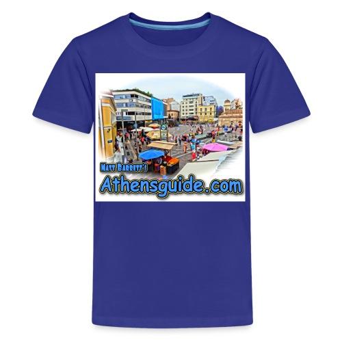 Athensguide Monastiraki jpg - Kids' Premium T-Shirt