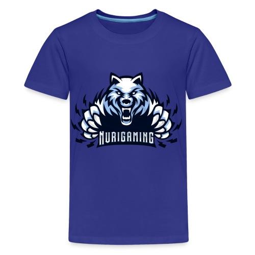NuriGaming🐺 - Kids' Premium T-Shirt