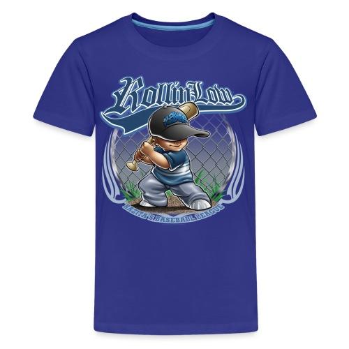 Raza Baseball by RollinLow - Kids' Premium T-Shirt