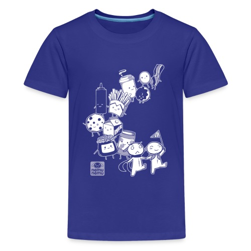Navy BFF Parade - Kids' Premium T-Shirt