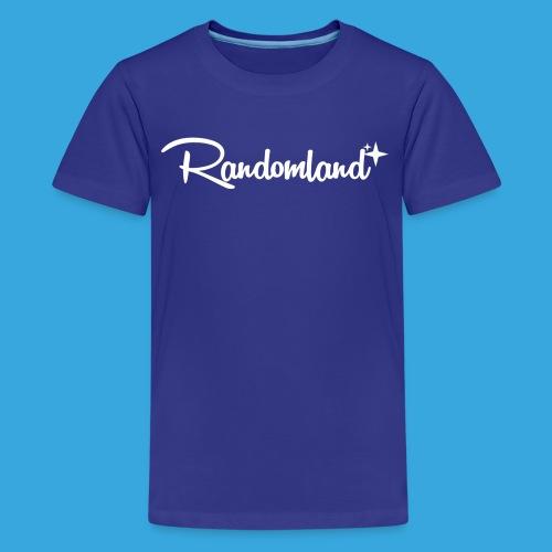 Randomland White Logo - Kids' Premium T-Shirt
