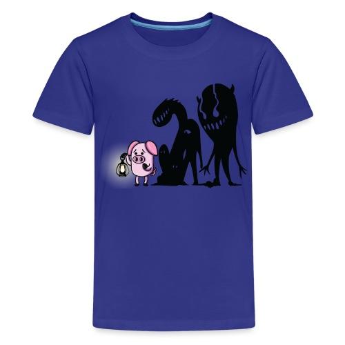 Slapped Ham The Darkness - Kids' Premium T-Shirt