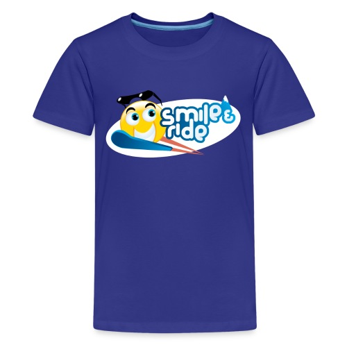 Smile And Ride - Kids' Premium T-Shirt