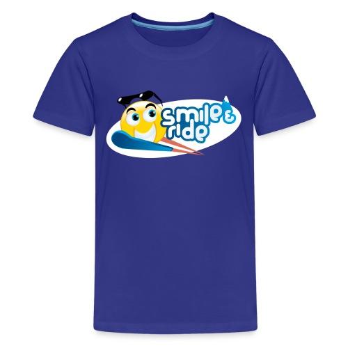 Smile And Ride - Kids' Premium T-Shirt