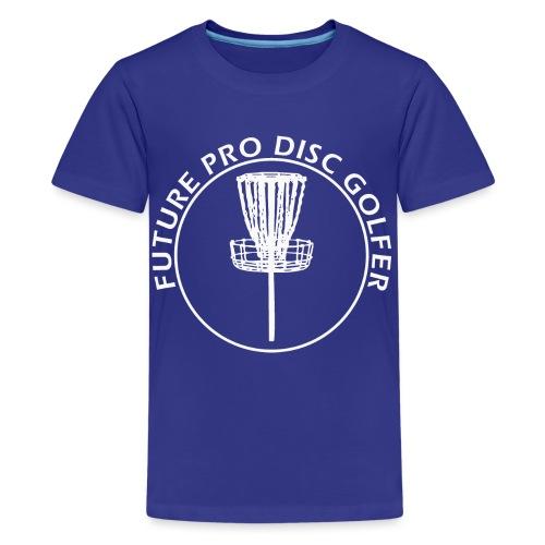 Future Pro Disc Golfer Kid s Shirts - Kids' Premium T-Shirt