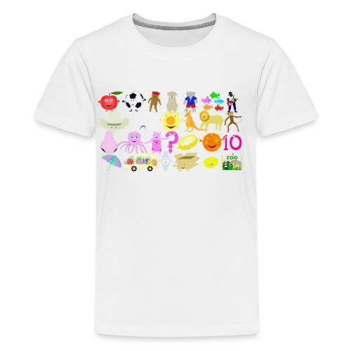 Phonics Song 3 - Kids' Premium T-Shirt