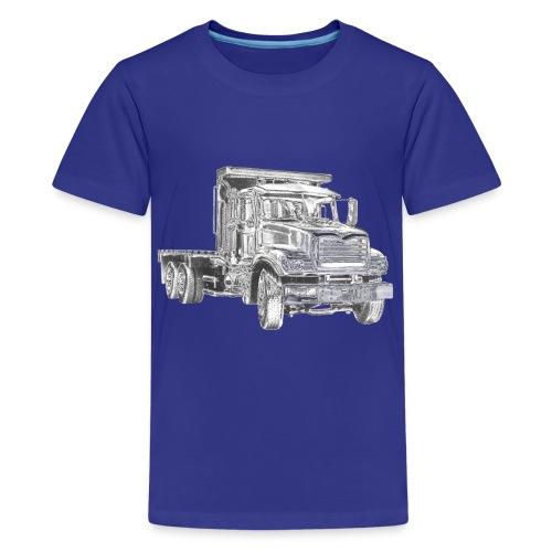 Flatbed Truck - Kids' Premium T-Shirt