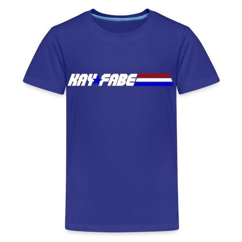Kayfabe USA - Kids' Premium T-Shirt