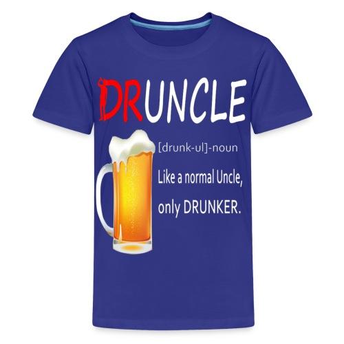 Druncle Beer T shirt Gift For Men - Kids' Premium T-Shirt