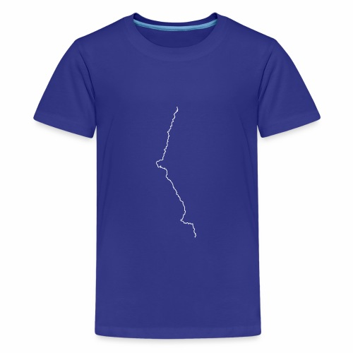 Pacific Crest Trail • The Line - Kids' Premium T-Shirt