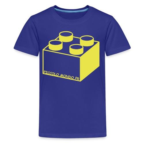 legoblock - Kids' Premium T-Shirt