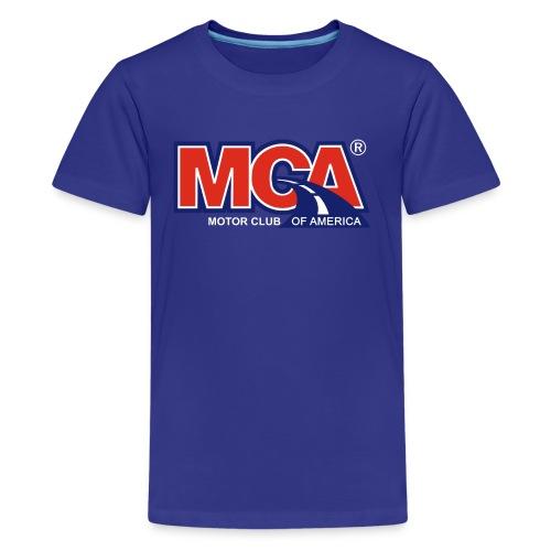 MCA Logo Transparent - Kids' Premium T-Shirt