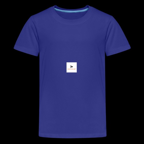 david.bt - Kids' Premium T-Shirt