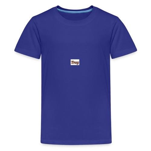 Troy Logo - Kids' Premium T-Shirt