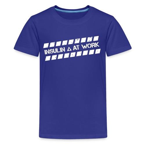 Insulin At Work - Kids' Premium T-Shirt