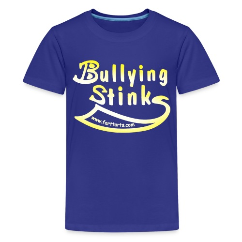 bullying stinks fade png - Kids' Premium T-Shirt