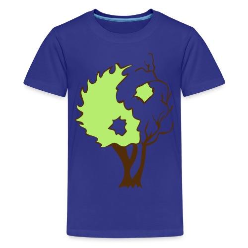 in tree col - Kids' Premium T-Shirt