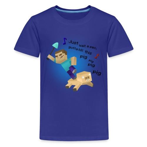 pig tshirts - Kids' Premium T-Shirt