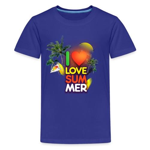I love summer - Kids' Premium T-Shirt