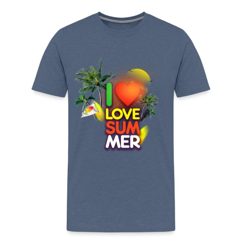I love summer - Kids' Premium T-Shirt