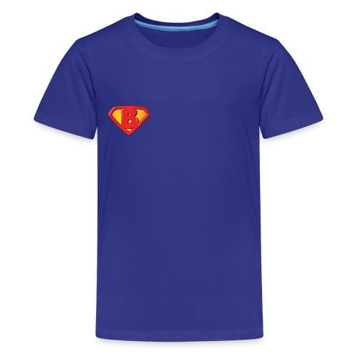 Super B letters - Kids' Premium T-Shirt