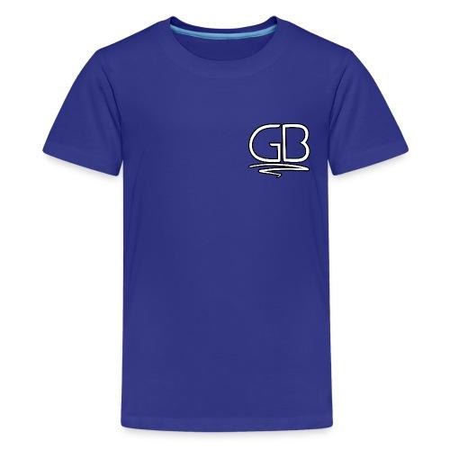 GB Logo design - Kids' Premium T-Shirt