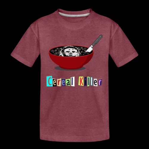 Cereal Killer | Funny Halloween Horror - Kids' Premium T-Shirt