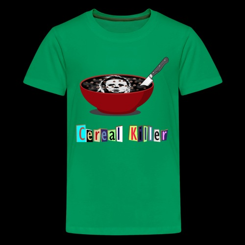 Cereal Killer | Funny Halloween Horror - Kids' Premium T-Shirt