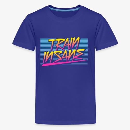 Train Insane Retro - Kids' Premium T-Shirt