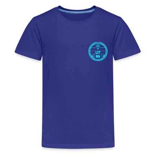 AB KEPP IT LIT 50 SUBS MERCH - Kids' Premium T-Shirt