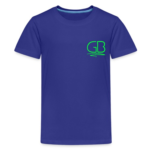 Green GB logo - Kids' Premium T-Shirt