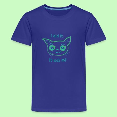 I did it - Kids' Premium T-Shirt