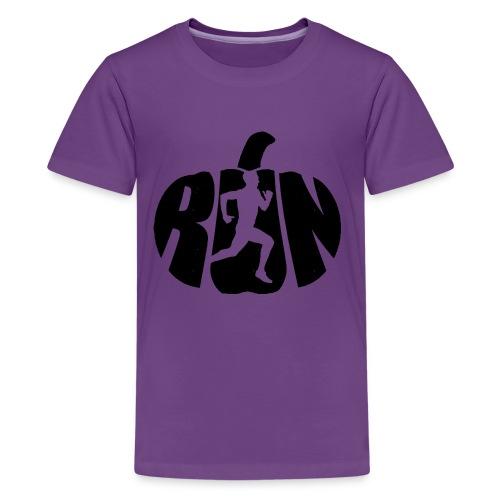 Halloween Running Pumpkin - Kids' Premium T-Shirt
