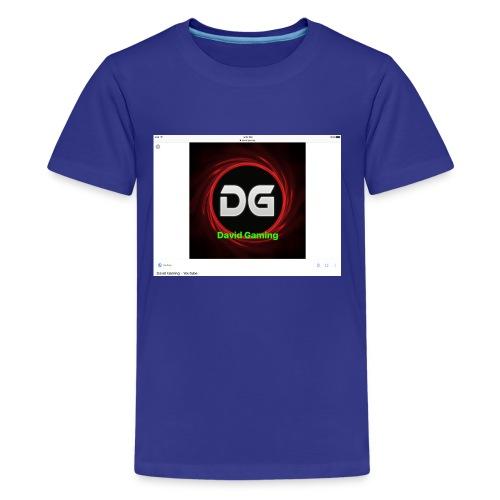 David hoddie - Kids' Premium T-Shirt