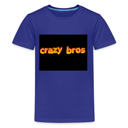 Crazy Bros logo - Kids' Premium T-Shirt