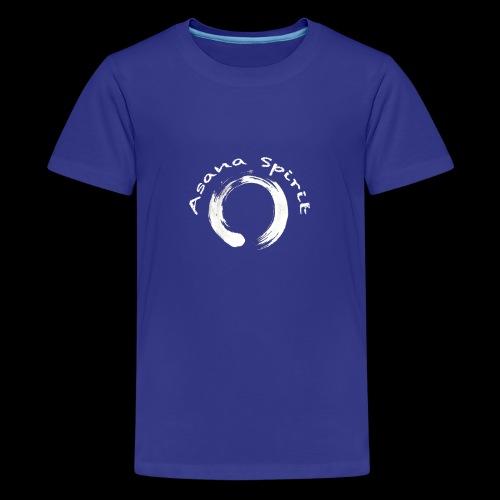 Enso Ring - Asana Spirit - Kids' Premium T-Shirt