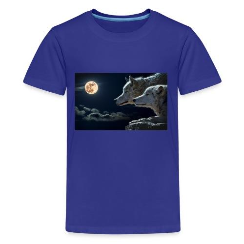 wolf 547203 1280 - Kids' Premium T-Shirt